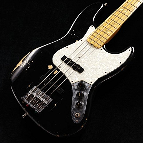 Fender Custom Shop / Limited Edition Geddy Lee 1972 Jazz Bass Relic Black