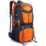 Hiking Backpack Nylon Waterproof Large Capacity Daypack for Outdoor Sports Travel Fishing Cycling Skiing Climbing Camping Mountaineering