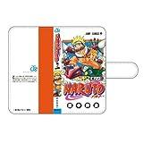 週刊少年ジャンプ50周年記念VOL.3 コミック表紙デザイン汎用スマホケース NARUTO-ナル...