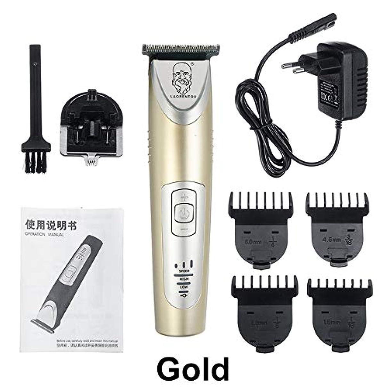 ホイール白菜毛布男性の髭電気カッターオイルヘッド髪のためのプロのヘアトリマー充電式電気バリカン切断機,金