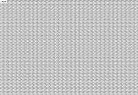 壁 レンガタイル ホワイト A3 のり付シート1/50 J-KB240