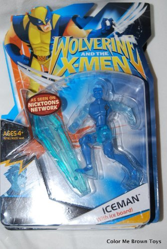 X-Men Wolverine Animated Action Figure Iceman by Hasbro [병행수입품]-