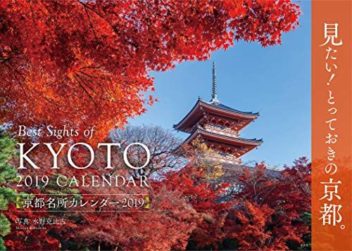 京都名所カレンダー2019 ([カレンダー])