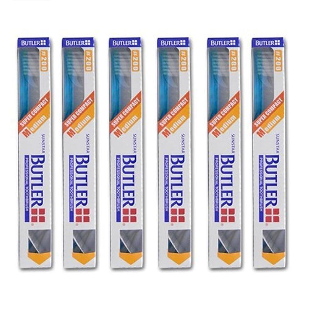 ステージ囲い性差別バトラー 歯ブラシ 6本 #200