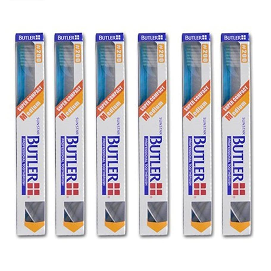 周術期唯物論ほうきバトラー 歯ブラシ 6本 #200