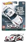 ホットウィール(Hot Wheels) カーカルチャー スライドストリート '20 トヨタ GR スープラ GRJ79 ホワイト