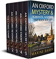 AN OXFORD MYSTERY & ROMANTIC SUSPENSE FIVE-BOOK BOX SET five utterly gripping page-turners (Totally Fabulo
