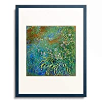 クロード・モネ Claude Monet 「The Water Lily Pond」 額装アート作品