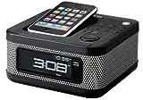 TDK iPod/iPhone対応スピーカー FMラジオ搭載 アラームクロックラジオ Xaシリーズ SP-XA4604BK / TDK Media