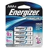 Wholesale CASE of 15–EnergizerリチウムAAA batteries-lithium電池、AAA、4/ PK
