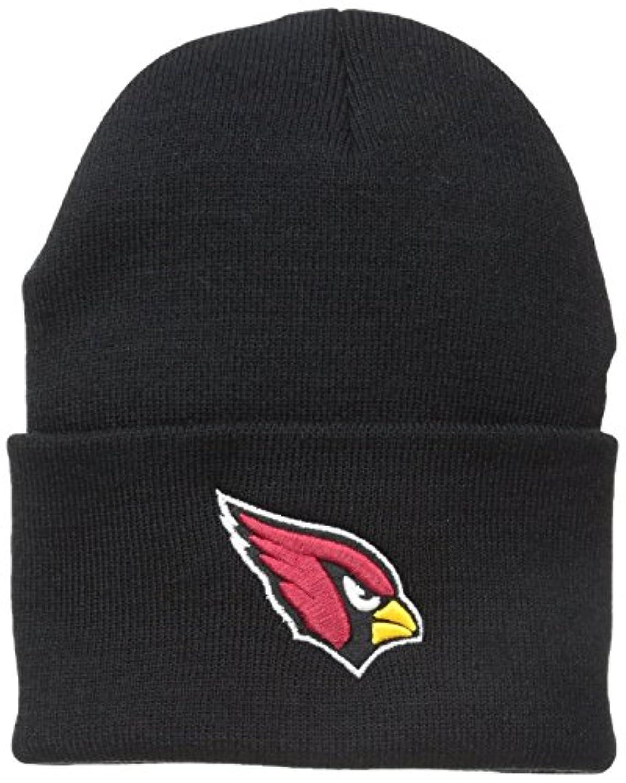 店主追い付くスペルArizona CardinalsブラックCuffニット帽 – NFL CuffedニットToqueキャップ