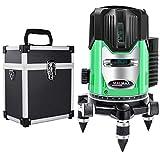 Mal Max 5ライン LD グリーンレーザー墨出し器 5線6点 回転レーザー線4方向大矩照射モデル