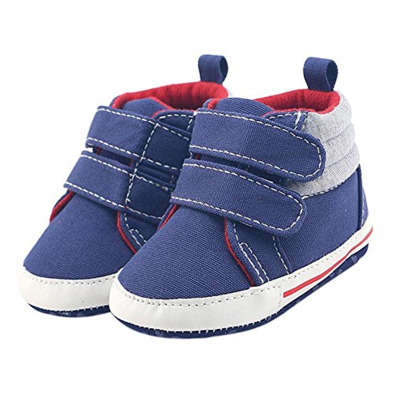 Cutelove 乳児靴 ベビー靴 男の子 赤ちゃん 幼児用 春 秋 冬 可愛い 滑り止め ベルクロ ゴムソール ソフトソール 歩き練習
