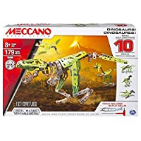 Meccano, 10 Model Set, Dinosaurs [並行輸入品]