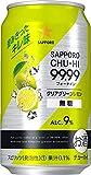 サッポロチューハイ 99.99 クリアグリーンレモン 無糖 [ チューハイ 350ml×24本 ]
