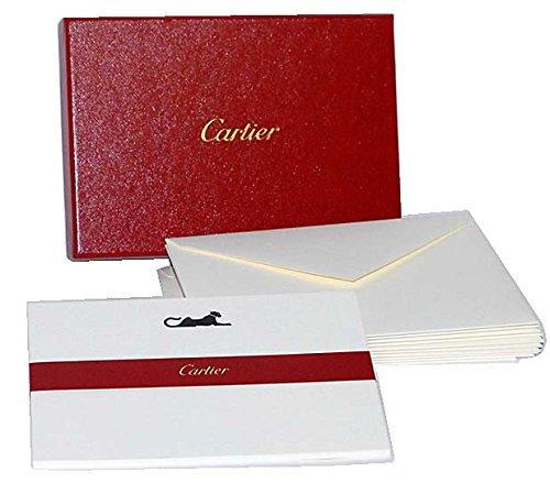 非売品 カルティエ Cartier ボックス入りカード&封筒...