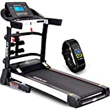 Norflex XR800 Space Saving Treadmill – Compact & Foldable Treadmill Electric – Fitness Running Machine Weight Capacity 160kg – 8 Level Shock Absorption System