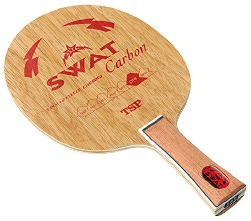 ティーエスピー(TSP) 卓球 ラケット スワットカーボン グリップFL 026344