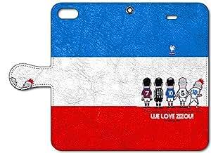soccer junky iPhone 6s / 6 (4.7インチ)専用Folio 手帳型ケース MADE IN フランス!  SJFL018