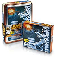 Crayola Star Wars Storm Trooper Collectible Tin, Crayons Toy (64 Count) [並行輸入品]