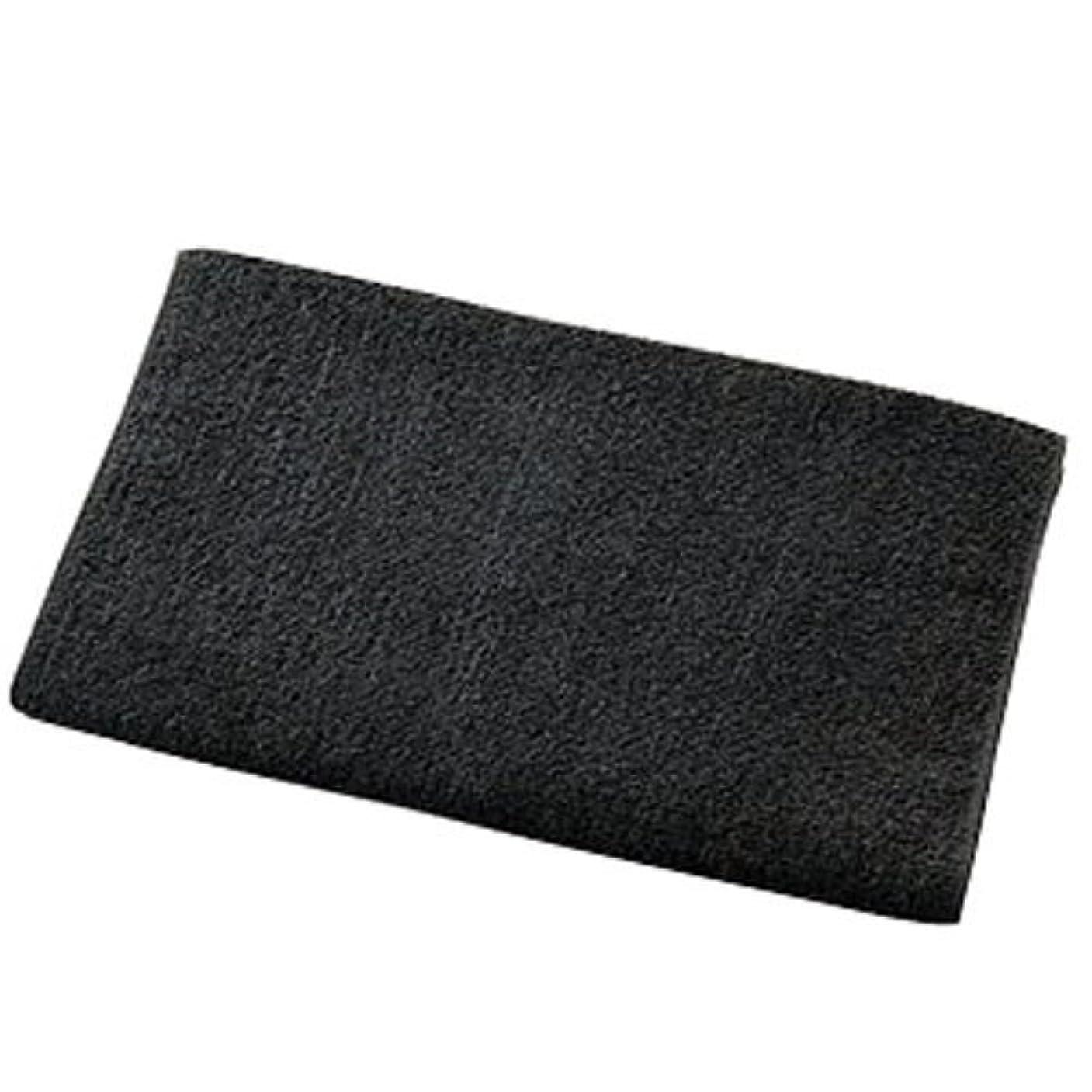 砂利祝福する膨らみKA 240匁 スレンヘアダイタオル (12枚入) ブラック
