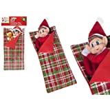 Elves Behavin' Badly - Elf and Sleeping Bag Pack - ELF Included - Must Have Elf Toys - Christmas Accessories