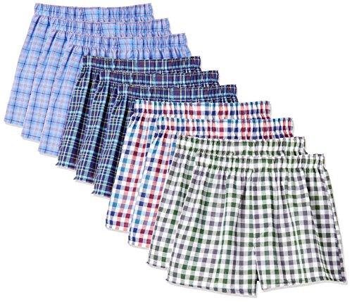 Creos ジーエスアイクレオス BASIC MEN'S TRUNKS 快適着心地 71-546-149S A99 10枚組、柄の組合せは選べません。 M