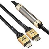 HORIC イコライザー付き 長尺 HDMIケーブル 30m ゴールド HDM300-008