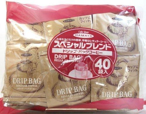 ハマヤ スペシャルブレンド ドリップ・バッグコーヒー 320g(8g×40袋)×96パック