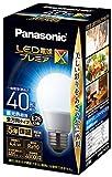 パナソニック LED電球 口金直径26mm プレミアX 電球40形相当 昼光色相当(4.4W) 一般電球 全方向タイプ 密閉器具対応 LDA4DDGSZ4