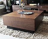 センターテーブル 80 木製 収納 ウォールナット センターテーブル COFFEE TABLE 80 正方形 デザイナーズ 木製 コーヒーテーブル リビングテーブル 両側引き出し 北欧 モダン