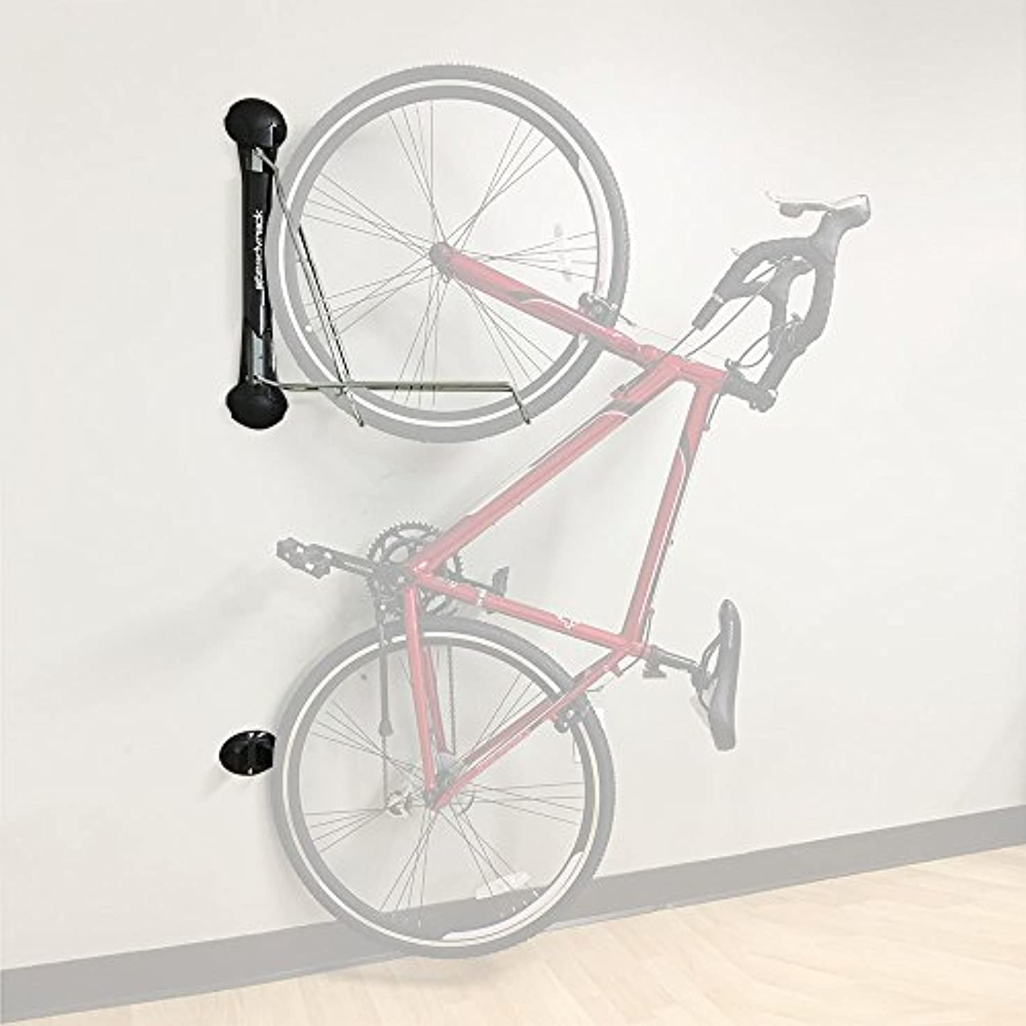 魅惑する殺す教えてSteadyrack Bike Rack - Vertical Wall Mount