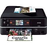 EPSON MultiPhoto Colorio 有線・無線LAN標準搭載 タッチパネル液晶 フォト複合機 6色染料イン…