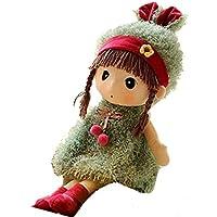 KimBerley ぬいぐるみ 女の子 可愛い 人形 ガールズ おもちゃ 玩具 プレゼント インテリア ギフト 贈り物 癒し系 緑 ベビー 赤ちゃん