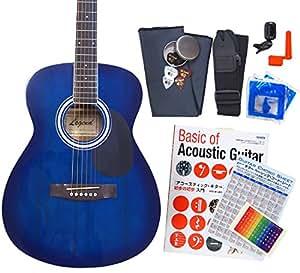 アコースティック・ギター アコギ 初心者 12点セット Legend FG-15 スタートセット アコギ 入門 BLS [98765]