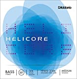 D'Addario ダダリオ ウッドベース(コントラバス)弦 HH610 3/4M Helicore Hybrid Bass Strings / SET 【国内正規品】