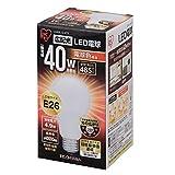 アイリスオーヤマ LED電球 口金直径26mm 40W形相当 電球色 広配光タイプ 密閉形器具対応 LDA5L-G-4T2
