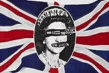 クラシック セックスピストルズ 「GOD save the QUEEN」 ポスター イギリス国旗 パンク 24 x 36