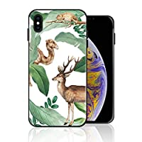 iPhone 6 Plus/6s Plus 携帯カバー 西欧 バナナ 熱帯植物 森 動物 カバー TPU 薄型ケース 防塵 保護カバー 携帯ケース アイフォンケース 対応 ソフト 衝撃吸収 アイフォン スマートフォンケース 耐久
