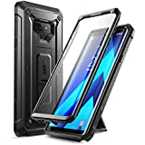 Samsung Galaxy Note 9 Case, SUPCASE Full-Body Rugged Holster Case with Built-In Screen Protector & Kickstand for Galaxy Note 9 (2018 Release), Unicorn Beetle Pro Series - Retail Package (Black) (Black)