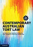 Cover of Contemporary Australian Tort Law