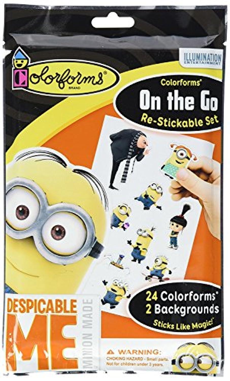 Colorforms Brand Despicable Me On The Go Restickable Set [並行輸入品]