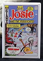 Josie and the Pussycats # 58コミックカバー冷蔵庫マグネット。