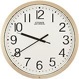 シチズン 掛け時計 電波 アナログ パルウェーブM603B オフィス タイプ 銀色 CITIZEN 4MY603-B19