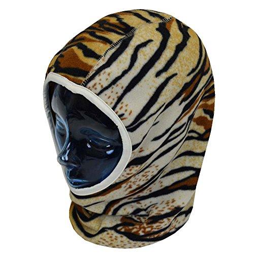子供用 フェイスマスク キッズ ジュニア 男の子 女の子 スキー用 フードキャップ fo-msk100056-58cmタイガー