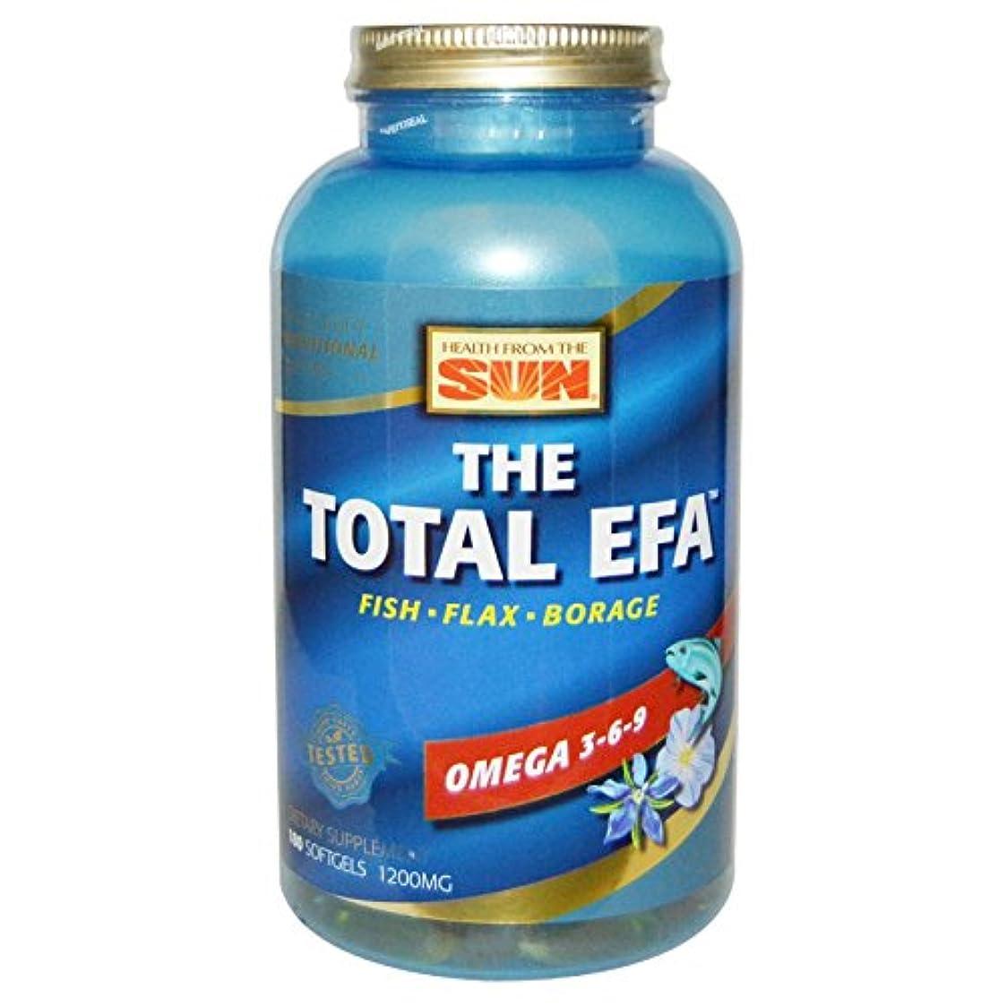 描くセットアップ偶然のTotal EFA   180 sgels  2個パック