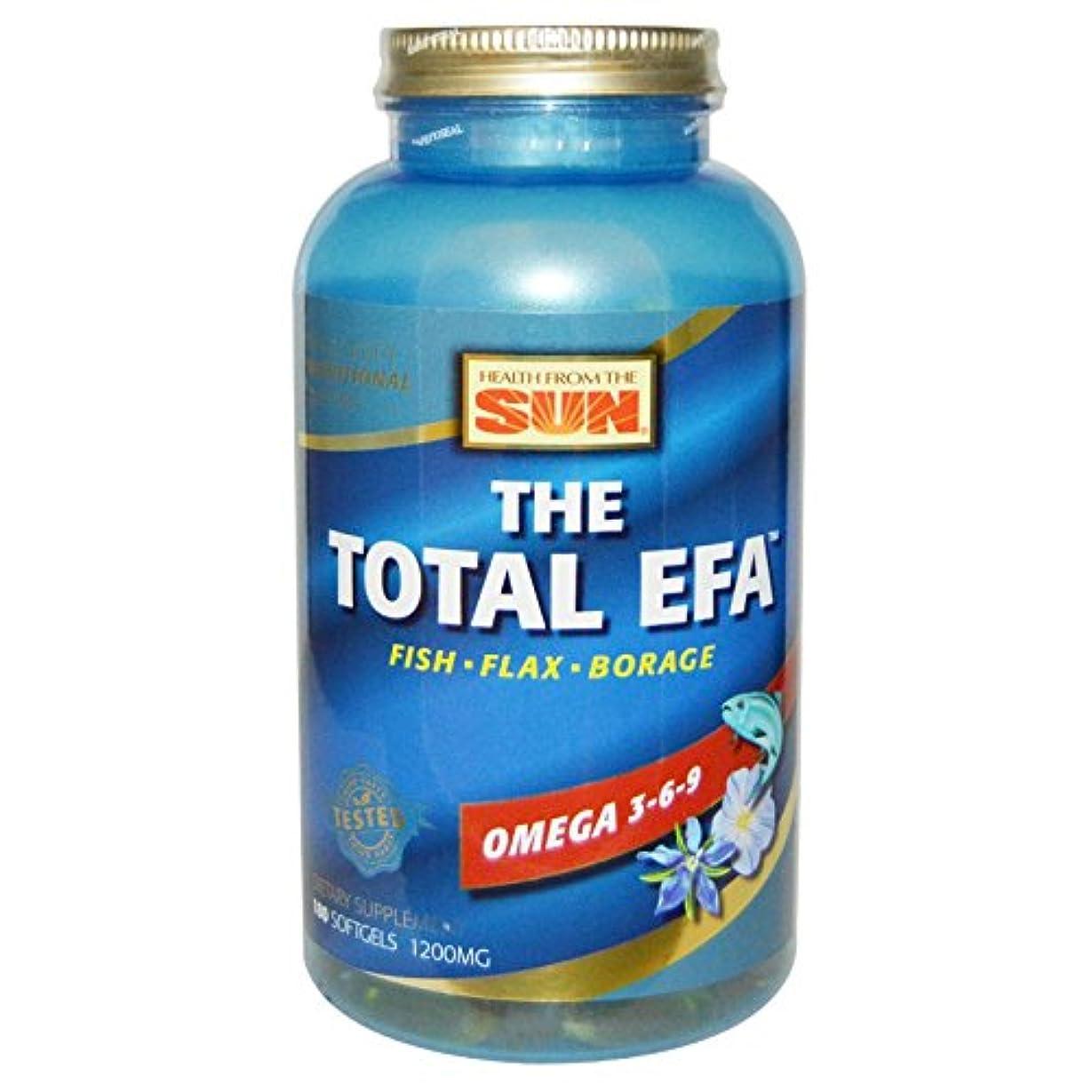 誕生愛する粉砕するTotal EFA   180 sgels  4個パック