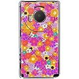 CaseMarket 【ポリカ型】 docomo LUMIX Phone P-02D ポリカーボネート素材 ハードケース [ ブリリアント フラワー ]