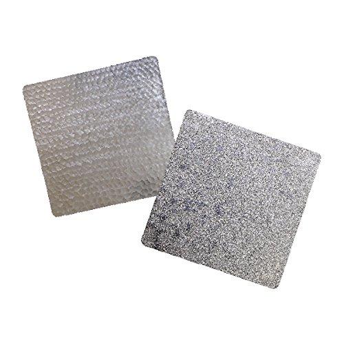 錫 すずがみ(錫紙)2枚組(あられ・かざはな)セット S 13×13(cm) シマタニ昇龍工房