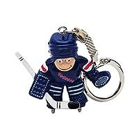 NHL New York Rangers Goalie Keychain
